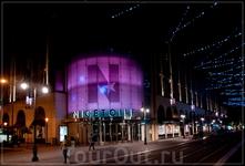 """по ночной Ницце,ул. Jean Medecin,супермаркет """"Звезда Ниццы"""""""
