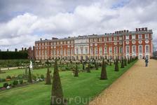 Hampton Court Palace. Парк.