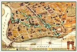 Карта Иркутска с достопримечательностями