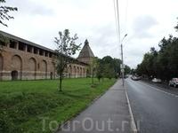 Крепостная стена Смоленска.