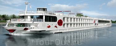 А это наш красавец корабль