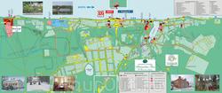 Карта Плеса для туристов