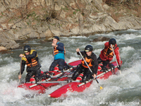 Сплавы по горным рекам в Карпатах
