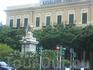 """я так понимаю, что это символ сицилийский что-ли, рядом отель """"Эксельсиор""""."""