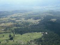 Вид на Истрию с горы.