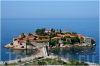 Остров-курорт Святой Стефан