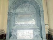Гробница генерала Леопольдо О'Доннелл, первого герцога де Тетуан (general Leopoldo O'Donnell, primer duque de Tetuán), изготовленная Гарсиа Суньол (García ...