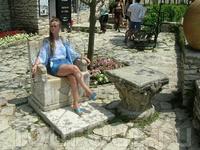 На этом троне румынская королева любила иногда сидеть
