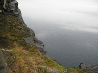 Вид океана с мыса Нордкап