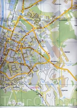 Карта Дмитрова с улицами