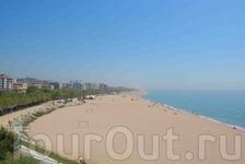 Пляж в Калелье.
