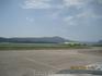 Аэропорт в Тивате - крохотный участок между горой и водой.