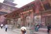 Дворцовая площадь в Патане