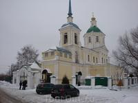 Церковь около Лобни.