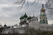 В советское время из монастыря сделали тюрьму и монастырские постройки вернули не так давно.