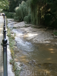 река Ольховка, протекает  по склонам курортного парка