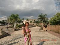 Центральная площадь в старой,колониальной части Санто-Доминго