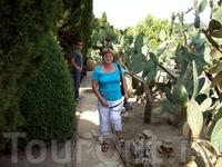 Балчик, в ботаническом саду