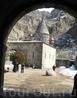 Здание монастыря Гегард. Вид со стороны центральных ворот.