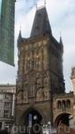 Пороховые ворота в Праге