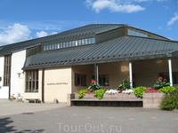 Художественный музей города. Здесь обычно проходят выставки картин и скульптур.