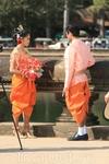 Камбоджийская свадьба в Ангкоре