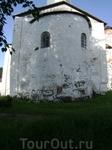 Ближе к обеду появилось солнце. Онежский Крестный монастырь. Не действующий