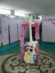 холл женского туалета
