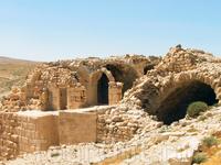 Замок Шобак в Иордании