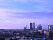 Вот так город выглядит утром