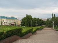 Вид от Дома Республики