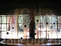 Музей леса. Сравнительные размеры гигантских секвой.