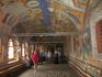 Фрески в притворе Воскресенского собора. сторона 1