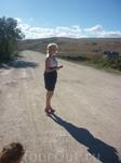 """""""Дорога жизни"""" как мы ее прозвали из Курортного в Керчь с ее степными пейзажами нам ближе и роднее, чем поездка по промзоне, хотя поездка по гравийке не ..."""