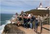 сценка с португальцами на Мысе Рока -Cabo da  Roca