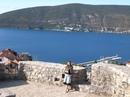 Вид с какой-то знаменитой башни Черногории