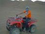 Катание на квадроцикле по пустыне, это просто класс!
