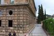 Дворец  Карлоса V снаружи...