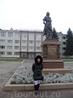 Памятник Петру возле оружейного завода