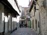 Переулок Катарины мастерские художников-прикладников в средневековом интерьере.