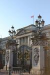 Лондон. Букенгемский дворец на замке