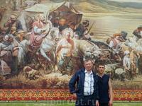 Эта земля вошла в историю: 200 лет назад на берегу Таманского залива Черного моря, у подножия горы Лысой, высадились первые черноморские казаки. На этой ...