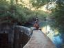 Озеро, куда впадают ручьи Epta Piges