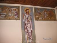 Поездка в монастырь св. Екатерины. Роспись на тему колодца
