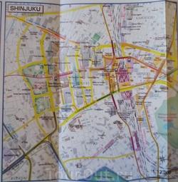 Карта района Синдзюку
