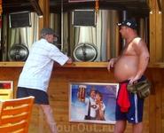 """""""пивная точка"""" на площади за отелем """"Сад жемчужной реки"""". Пиво на любой вкус - светлое, темное, красное, есть даже фруктовое!"""