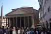 Рим.  Пантеон - античный  храм всех  богов II века от Р.Х.Позже  стал  христианской  церковью. Имеет второе  название - Santa  Maria  ad Martyres.