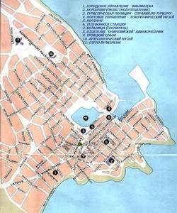 Карта Агиос Николаос