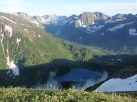 Сурунцинское озеро и перевал в долину р. Кинзелюк