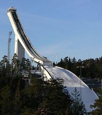 Лыжный трамплин Холменколлен